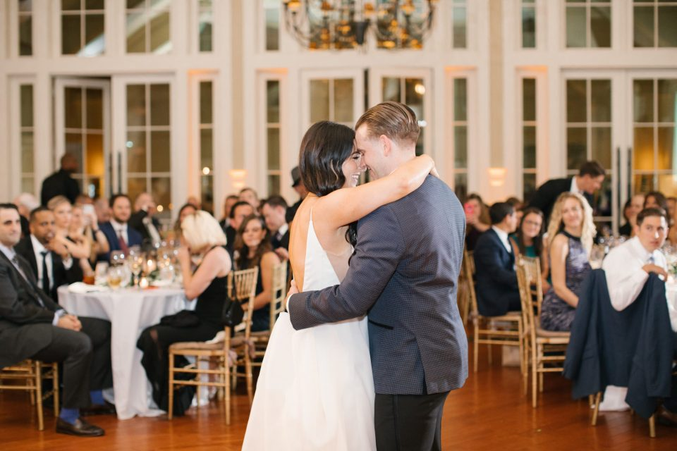 Ashley Mac Photographs photographs first dance at Ryland Inn