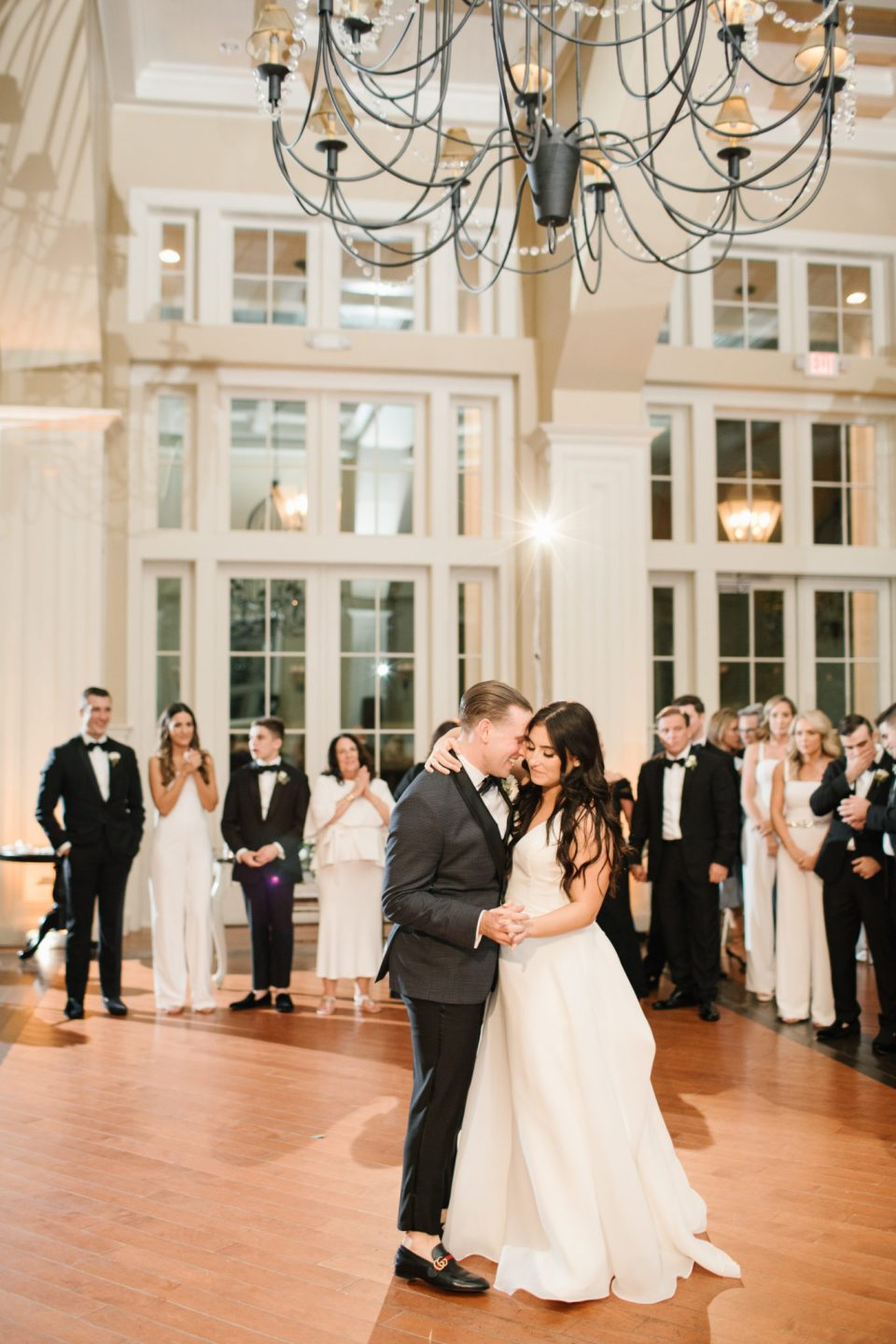 wedding dancing at Ryland Inn with Ashley Mac Photographs
