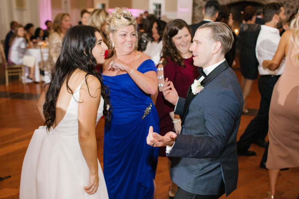 wedding reception fun photographed by Ashley Mac Photographs