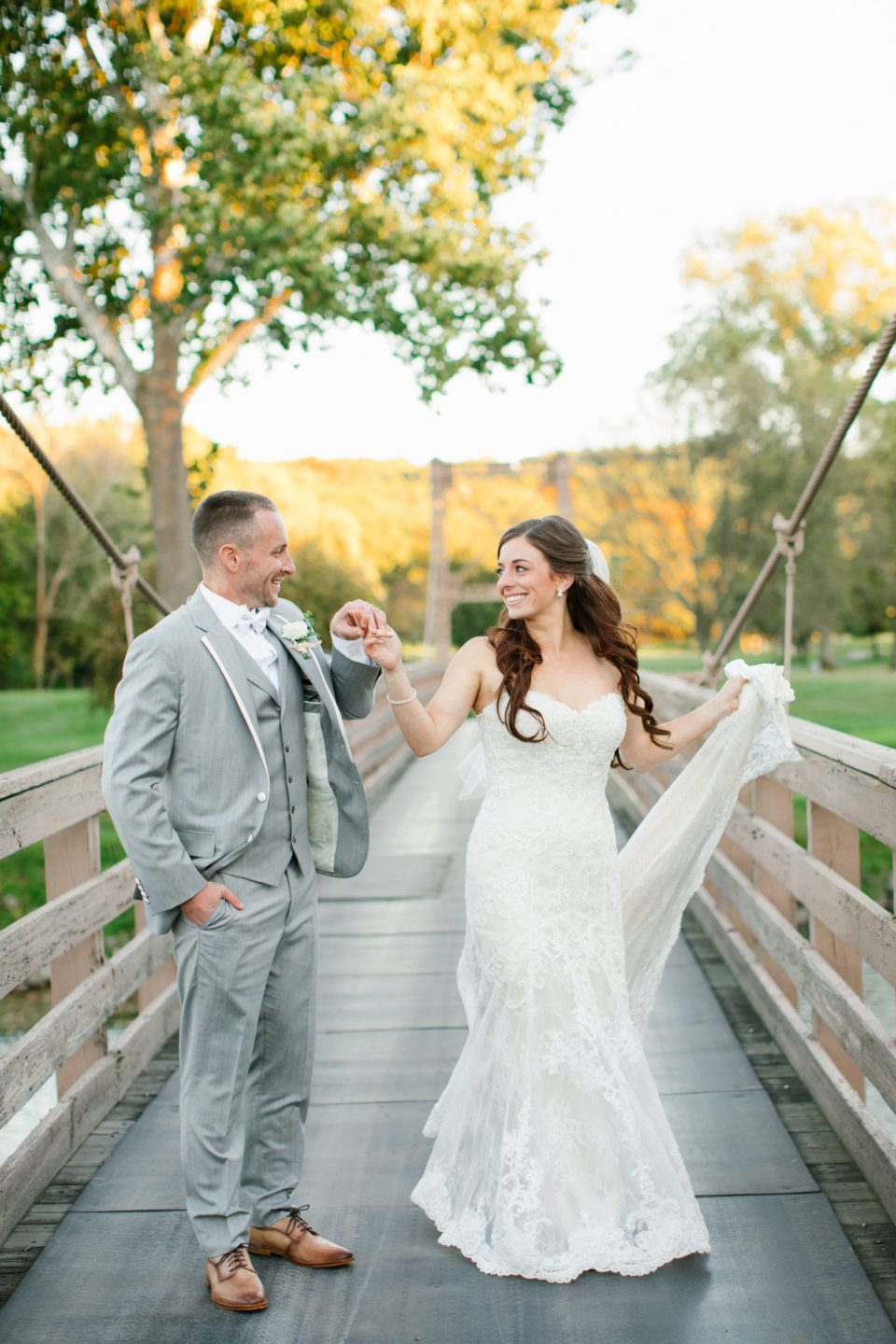 Ashley Mac Photographs captures bride and groom on their wedding day