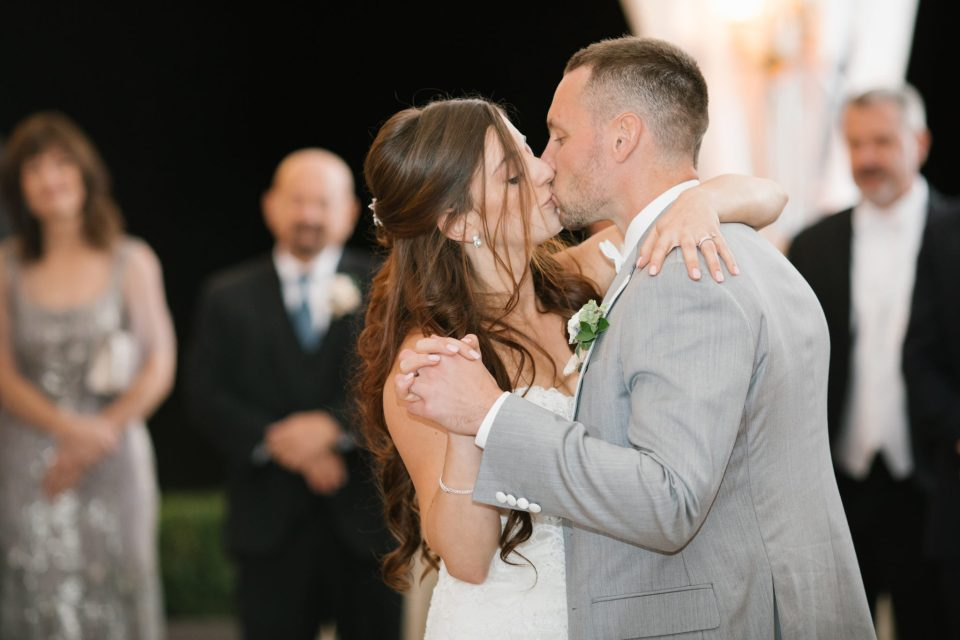 Ashley Mac Photographs photographs first dance under tent