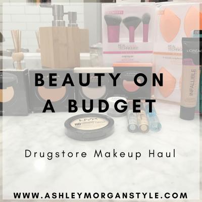 Beauty on a Budget: Drugstore Makeup Haul