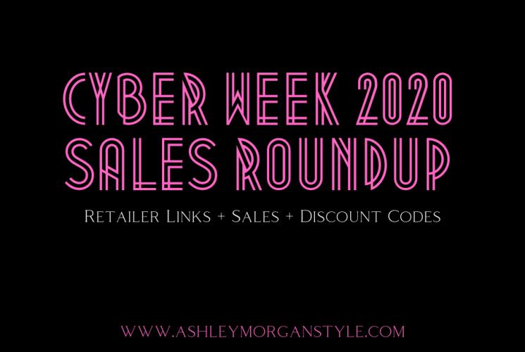 Cyber Week 2020 Sales Roundup