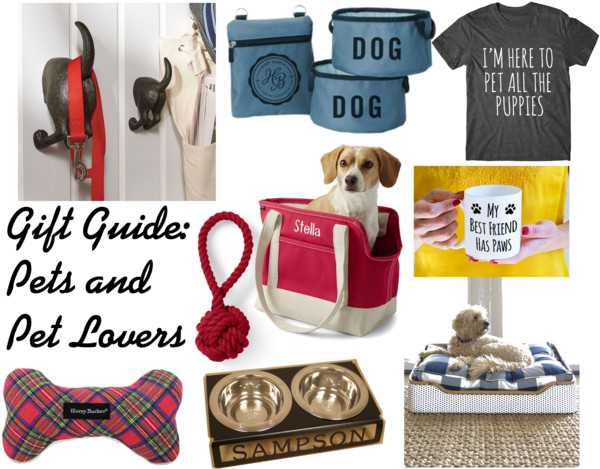 Gift Guide Pets and Pet Lovers
