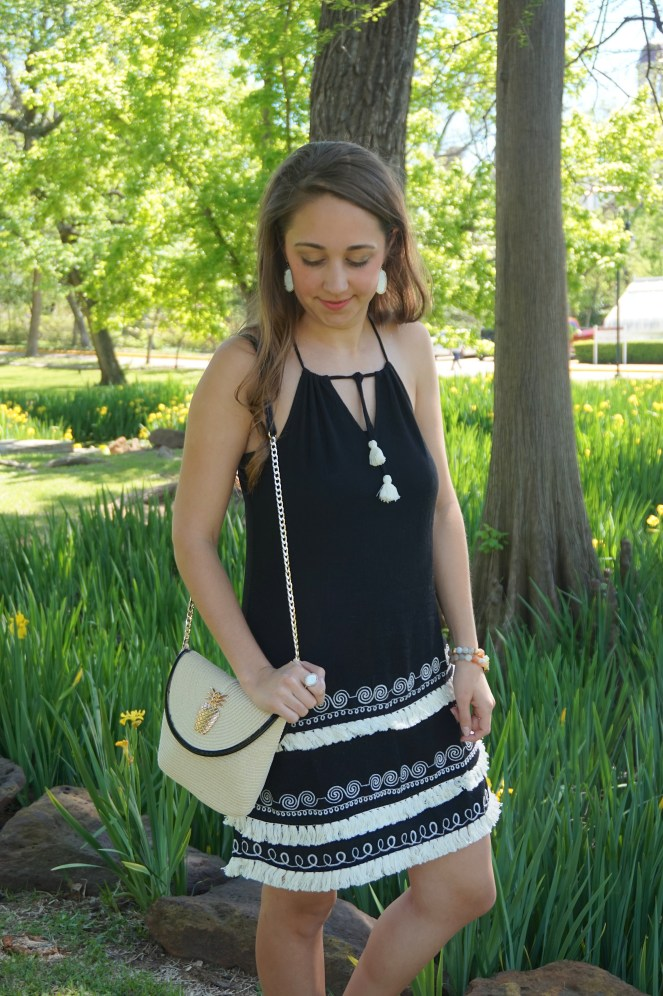 Summer dress with Mint Julep Boutique
