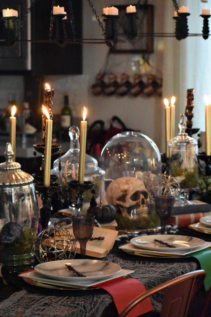 Ashley Nicole Interiors Harry Potter Halloween