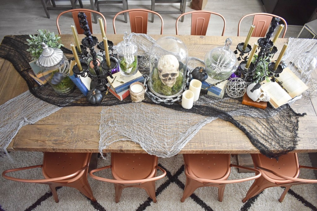 Ashley Nicole Interiors Harry Potter Halloween Tablescape
