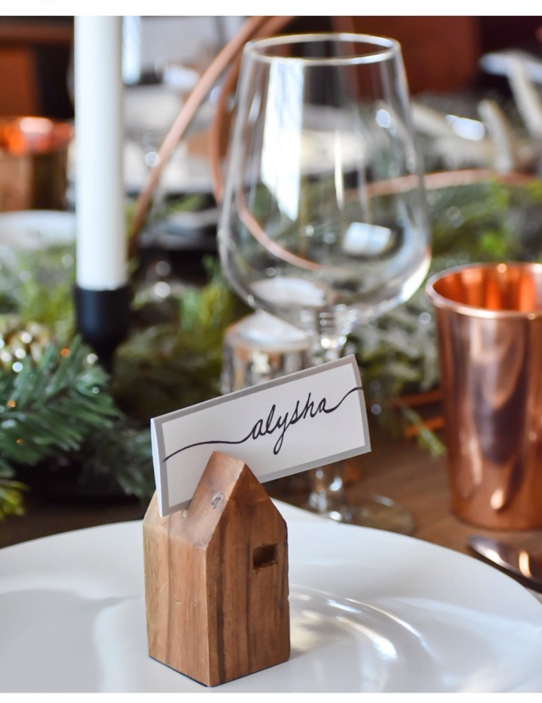 Ashley Nicole Interiors Thanksgiving Tablescape