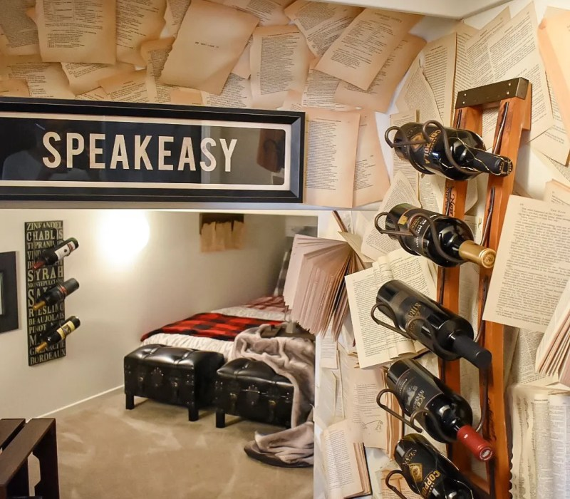 Ashley Nicole Interiors Dogs and Design Speakeasy Guest Room