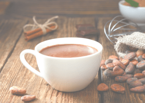 cup of hot cacao