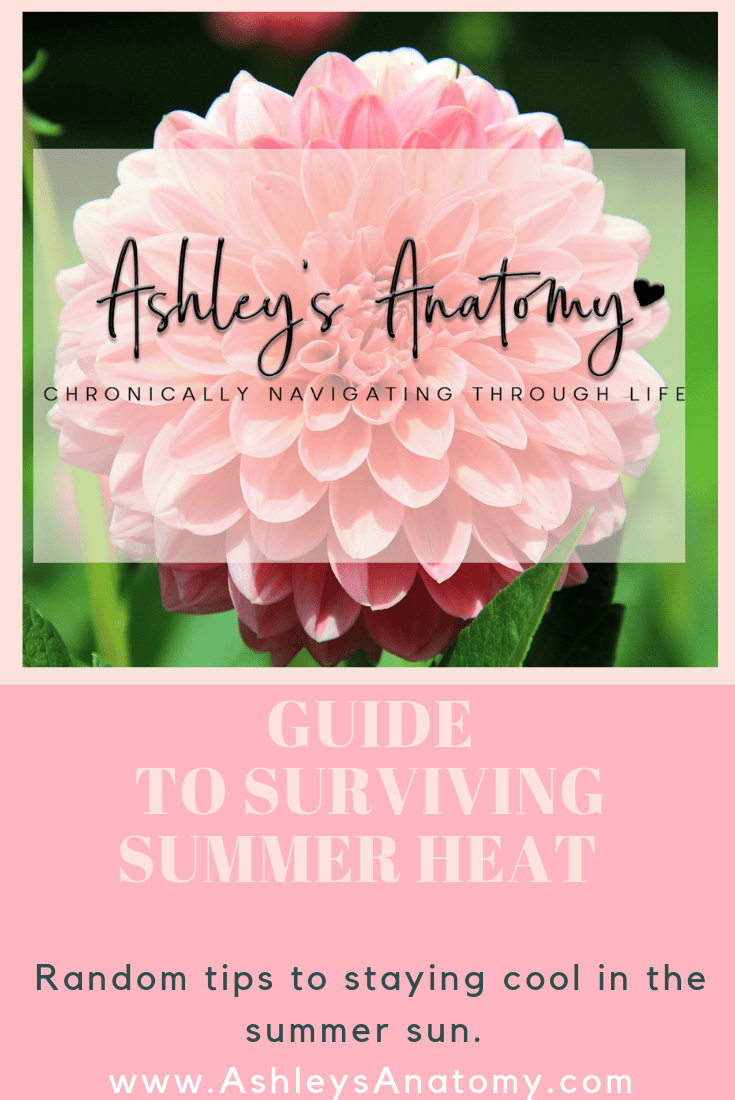 Spoonie Guide to Surviving Summer Heat