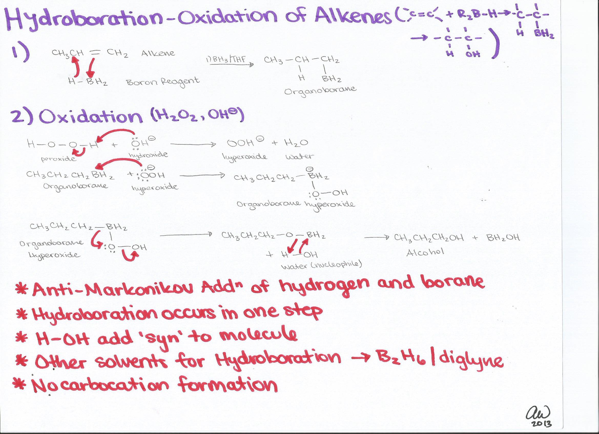 Organic Chemistry I Study Guides
