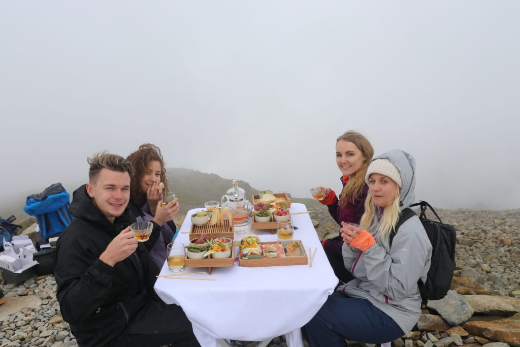 The World's Highest High Tea