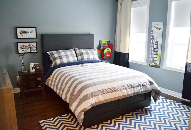 Blue Big Boy Bedroom Novocom Top
