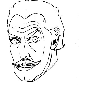 Vincent Price Sketch
