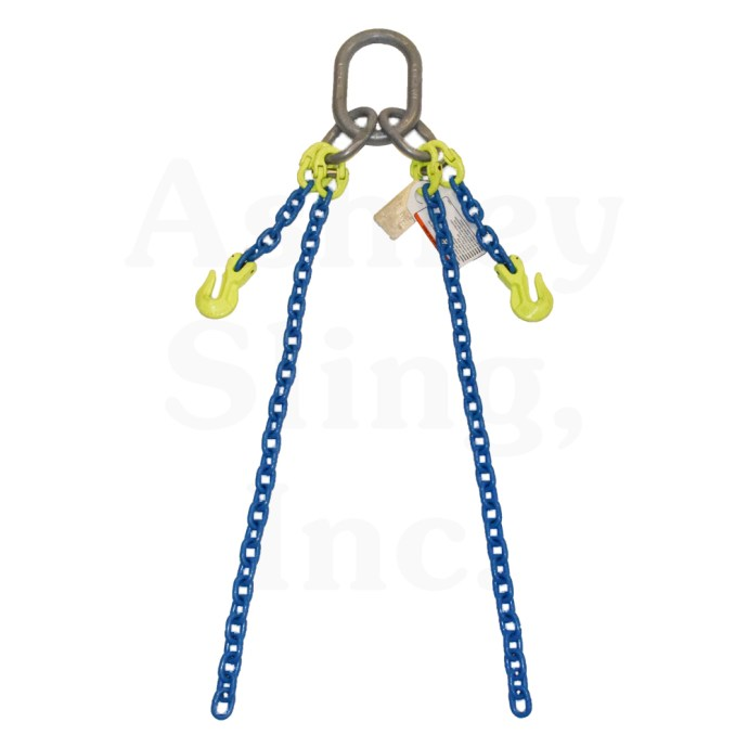 Adjustable Double Loop Chain Sling