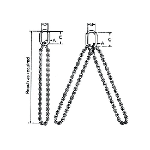 Type ENS & END Alloy Chain Sling