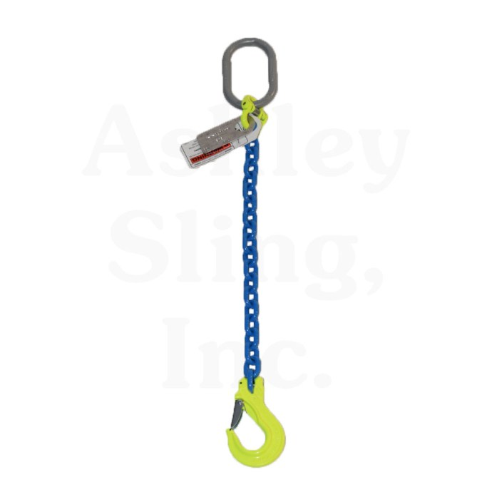 Single Leg Alloy Chain Sling
