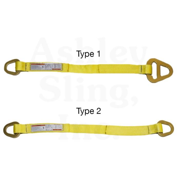type 1 & 2 web sling