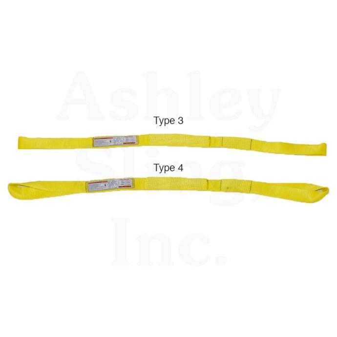 Type 3 & 4 Web Sling
