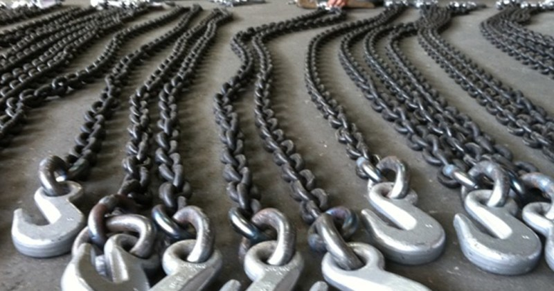 alloy chain slings welded