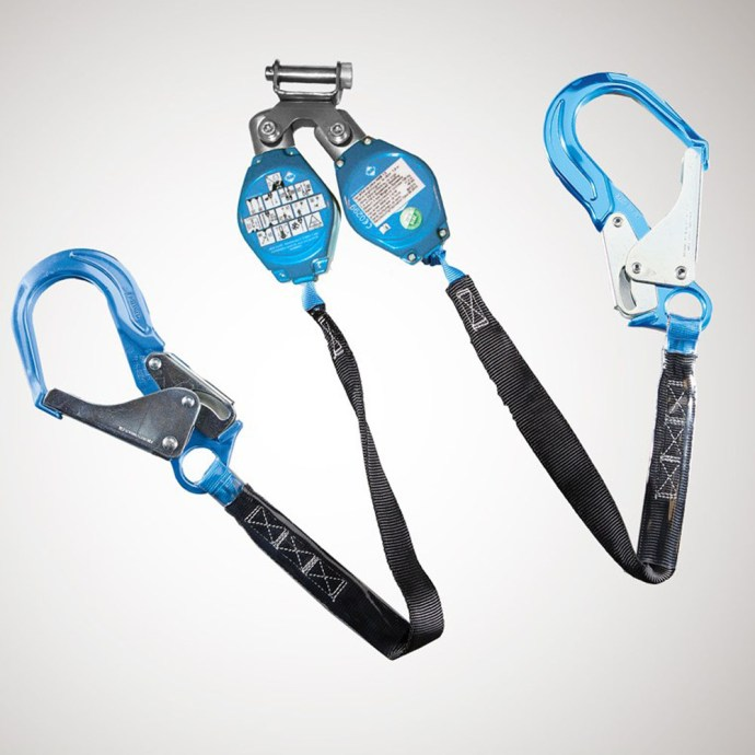 Web Retractable Y Lanyard