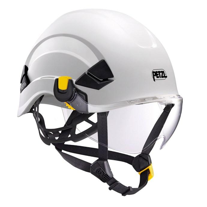 VIZIR Eye Shield on Helmet