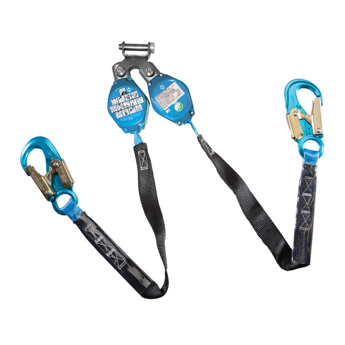 Web Retractable Lanyard with Snap Hooks