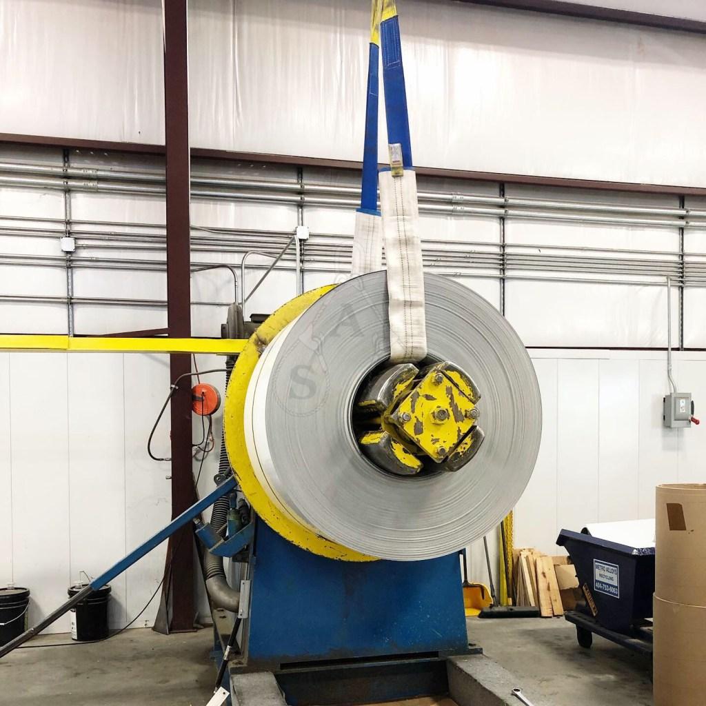 Sling Armor® lifting metal coils