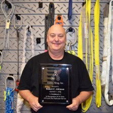 Bubba - 15 years working at Ashley Sling