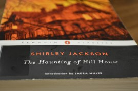 I finally checked out my first book from the Jerry Falwell Library - The Haunting of Hill House by Shirley Jackson