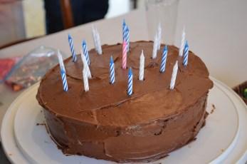 Birthday cake that my mom made