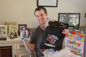 My gift to Brendan - Liberty gear