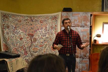 Executive Editor of LAMP magazine, Nicholas Olson