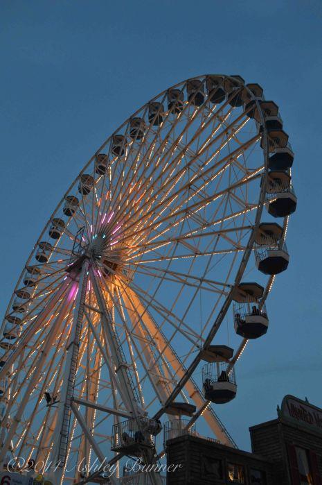 Ferris wheel at Wonderland Pier