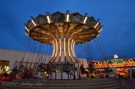 Chair swing at Wonderland Pier