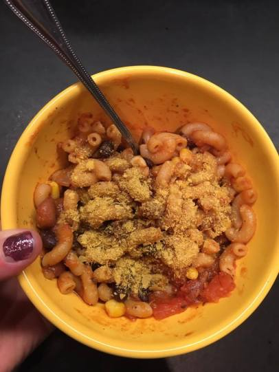 Vegan Chili Mac n Cheese