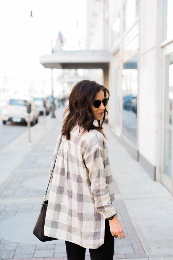 Black & Plaid + My Fav Local Boutique, Nations Outfitters featured by popular Los Angeles fashion blogger, Ashley Hodges