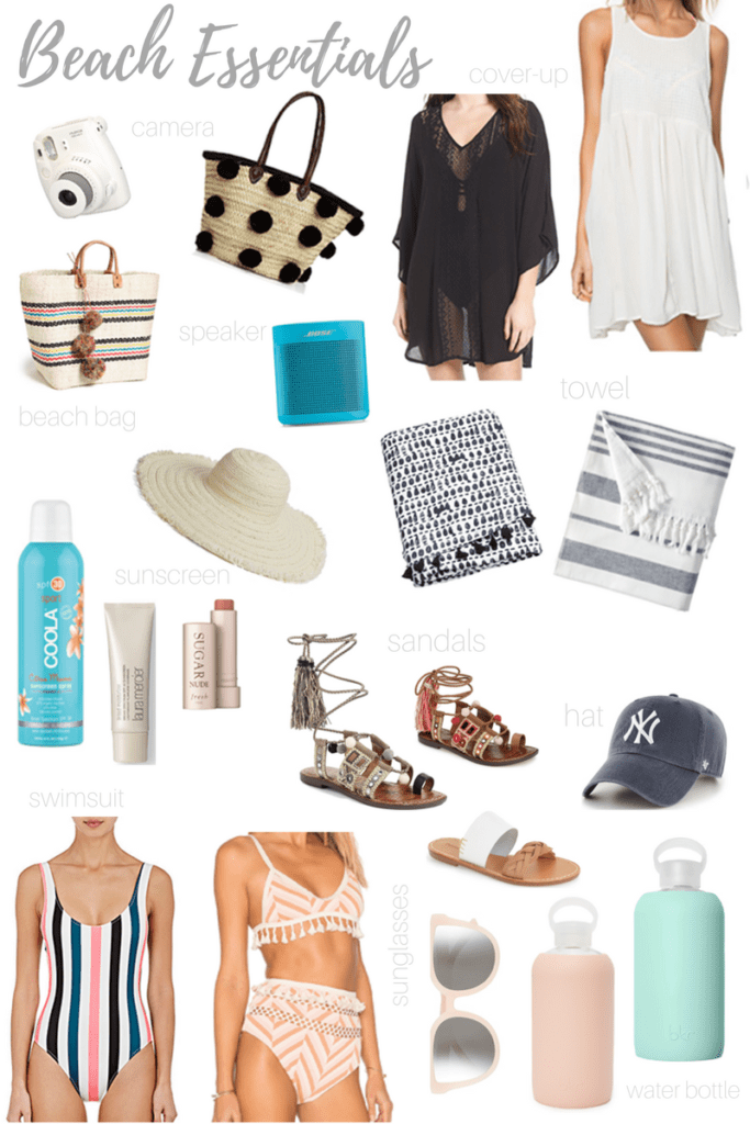 Beach Travel Essentials by Ashley Hodges - AshleyTerk.com // beach // swimwear // towel // solid and striped - Beach Essentials and Summer Time Clothes featured by popular Los Angeles fashion blogger, Ashley Hodges