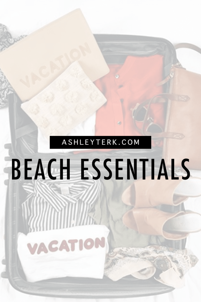 Beach Essentials and Summer Time Clothes featured by popular Los Angeles fashion blogger, Ashley Hodges