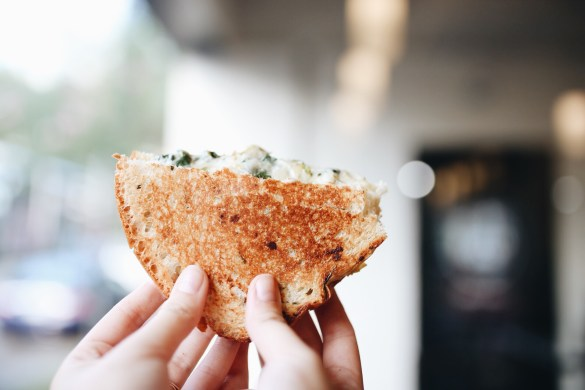 The Grilled Cheeserie - THE ULTIMATE NASHVILLE CITY GUIDE featured by popular Los Angeles travel blogger, Ashley Hodges