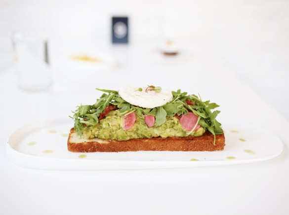 Proper Bagel, Smashed Avacado - THE ULTIMATE NASHVILLE CITY GUIDE featured by popular Los Angeles travel blogger, Ashley Hodges