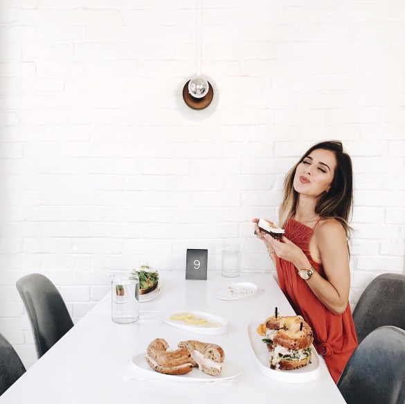 Nashville City Guide, Proper Bagel - THE ULTIMATE NASHVILLE CITY GUIDE featured by popular Los Angeles travel blogger, Ashley Hodges