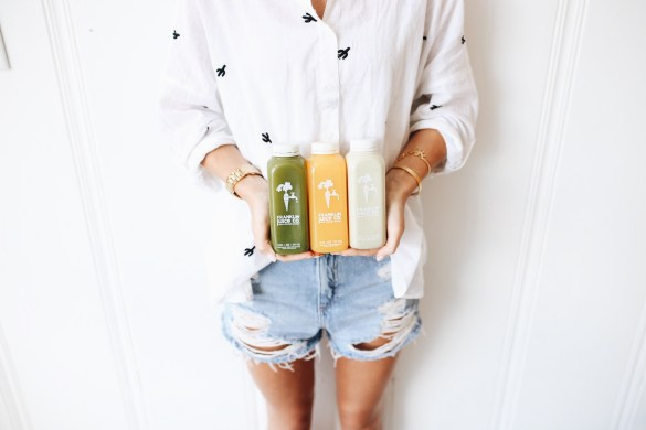 Franklin Juice Company - THE ULTIMATE NASHVILLE CITY GUIDE featured by popular Los Angeles travel blogger, Ashley Hodges