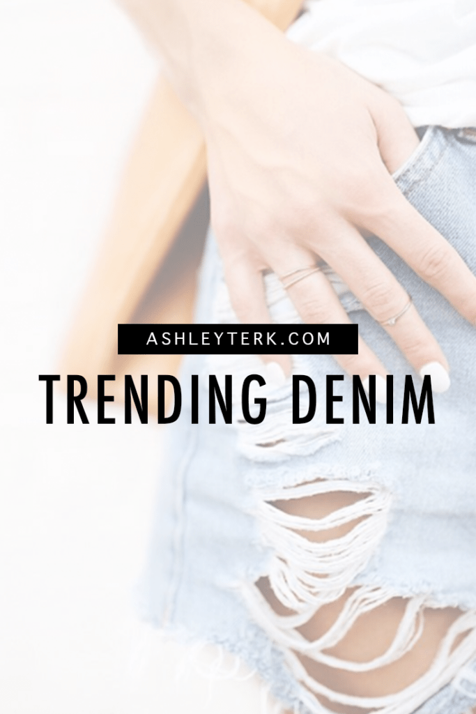 Ashley Terkeurst Hodges || Trending Denim || Ways to Wear Denim