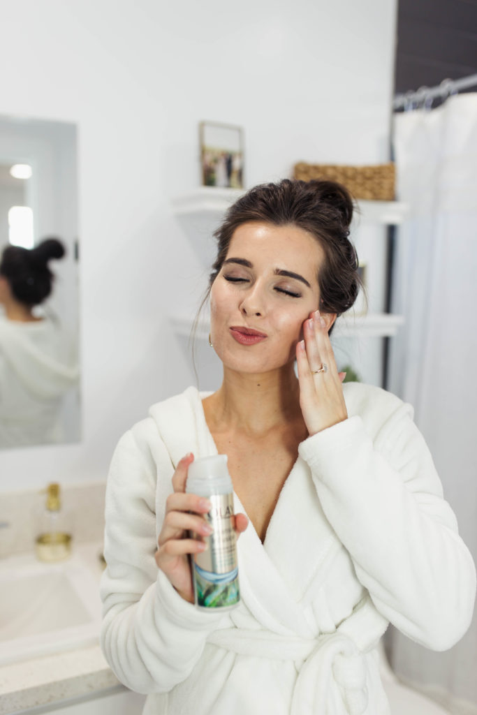My Favorite Facial Cleanser to Beat Pregnancy Acne featured by popular Los Angeles beauty blogger and expecting mom, Ashley Terk
