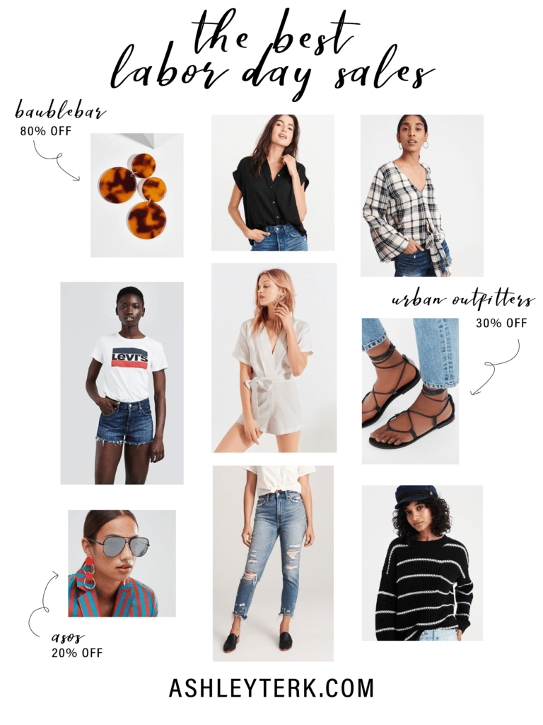 Clothing | Beauty | Fashion | Makeup | Labor Day Sales You Can't Miss featured by popular Los Angeles fashion blogger Ashley Hodges | Ashleyterk.com