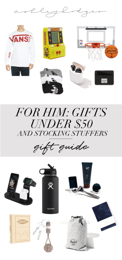 Gifts For Him Under $50 & Stocking Stuffers featured by top Los Angeles life and style blogger, Ashley Hodges