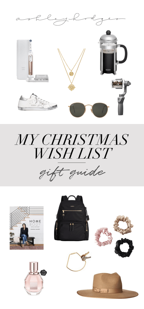 Christmas wish list featured by top Los Angeles life and style blogger, Ashley Hodges