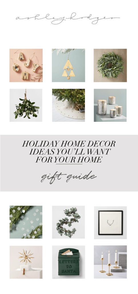 Stylish Holiday Home Decor featured by top Los Angeles life and style blogger, Ashley Hodges